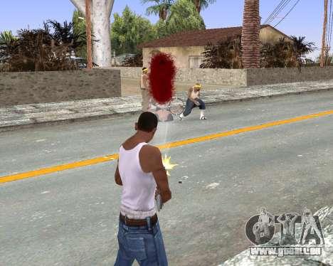 Blood Effects für GTA San Andreas dritten Screenshot