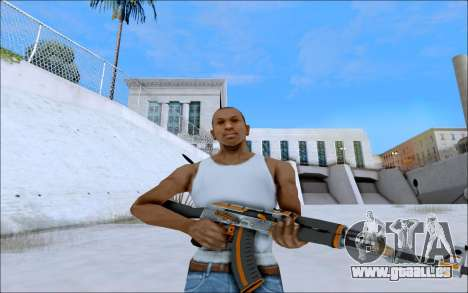 AK-47 Carbone Edition für GTA San Andreas zweiten Screenshot