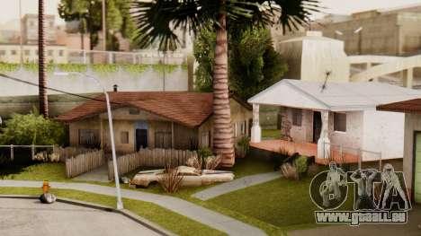 HD Grove Street pour GTA San Andreas troisième écran