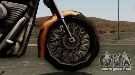 Freeway Diablo pour GTA San Andreas vue de droite