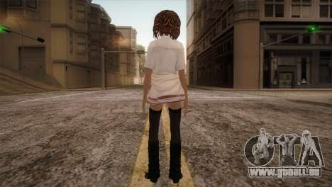 Rasta School Girl für GTA San Andreas dritten Screenshot