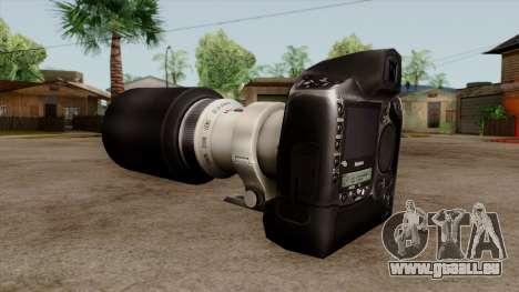 Original HD Camera pour GTA San Andreas deuxième écran