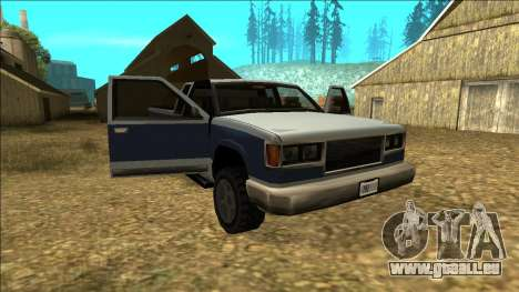 New Yosemite v2 pour GTA San Andreas