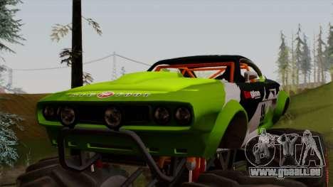 GTA 5 Vapid Big Foot pour GTA San Andreas vue de droite