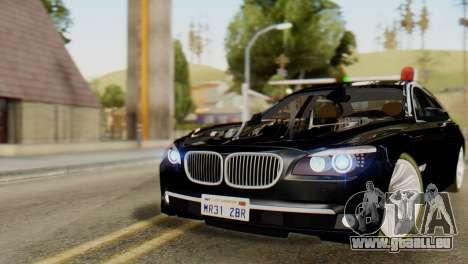 BMW 750Li 2012 für GTA San Andreas