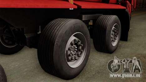 Krampe SB3060 pour GTA San Andreas sur la vue arrière gauche