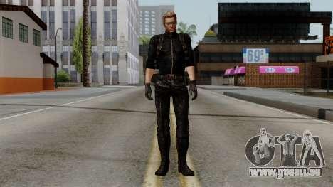 Wesker Midnight pour GTA San Andreas deuxième écran