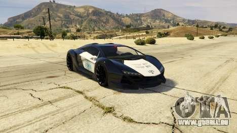 Lamborghini Police Zentorno LSPD v3.0 für GTA 5
