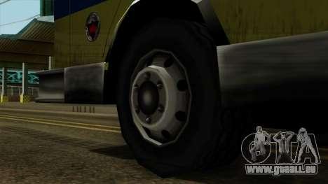 SAFD SAX Airport Engine pour GTA San Andreas sur la vue arrière gauche