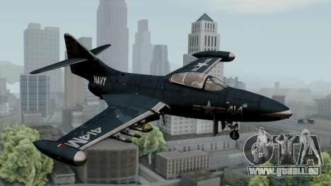 Grumman F9F-5 Phanter für GTA San Andreas