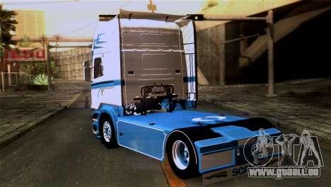 Scania R730 pour GTA San Andreas laissé vue