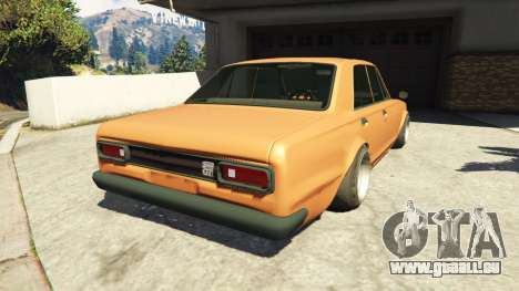 Nissan Skyline 2000 GT-R 1970 v0.1 [Beta] für GTA 5