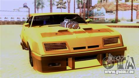 Ford Falcon XB Interceptor Mad Max pour GTA San Andreas