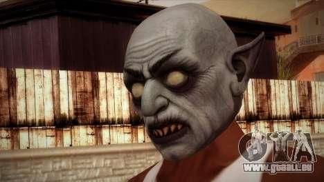 Vampiro pour GTA San Andreas troisième écran