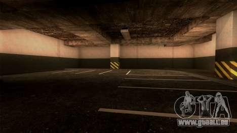 Nouveau LSPD Parking pour GTA San Andreas cinquième écran