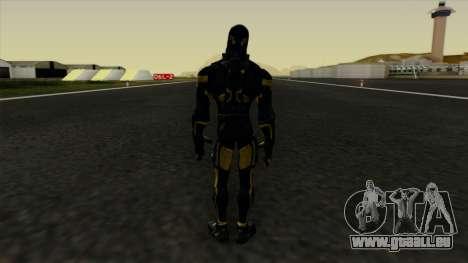 Ant-Man Yellow Jacket pour GTA San Andreas troisième écran
