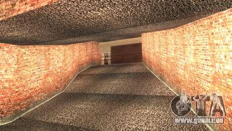 Doherty Garage Retexture pour GTA San Andreas deuxième écran