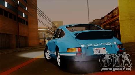 Porsche 911 Carrera RS 2.7 Sport (911) 1972 HQLM für GTA San Andreas rechten Ansicht