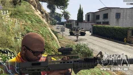 GTA 5 L'armée au lieu de la police sur 5-étoiles v1.3. deuxième capture d'écran