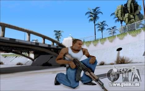 AK-47 Soviet für GTA San Andreas dritten Screenshot