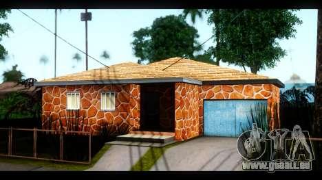Neue Texturen der Häuser rund um die grove Stree für GTA San Andreas zweiten Screenshot