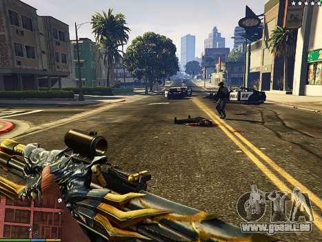 GTA 5 AK-47 Bête deuxième capture d'écran