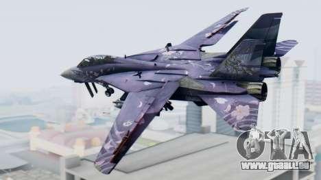 F-14D Zipang pour GTA San Andreas laissé vue