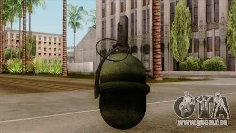Original HD Grenade für GTA San Andreas
