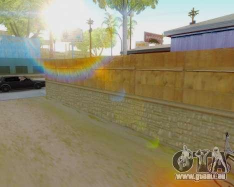Die Sonne von GTA 5 Finale für GTA San Andreas