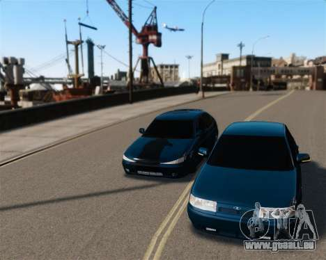 VAZ 2110 für GTA 4 Rückansicht