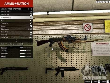 AK-47 Tier für GTA 5
