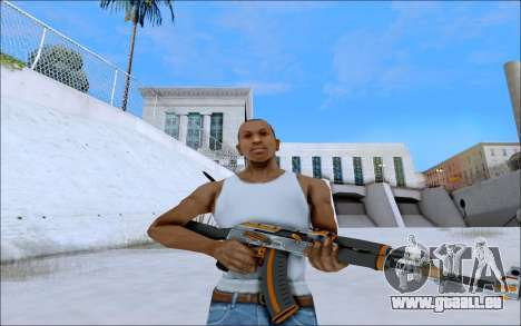 AK-47 Carbone Edition für GTA San Andreas