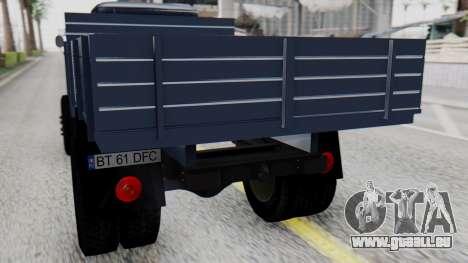 DAC 6135 Facelift für GTA San Andreas Rückansicht