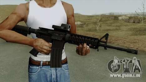 AR-15 Trijicon pour GTA San Andreas troisième écran