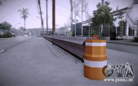 Bâtiment sur Grove Street v0.1 Beta pour GTA San Andreas onzième écran