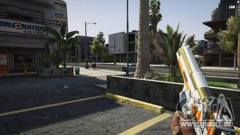 GTA 5 Asiimov Pistol.50 quatrième capture d'écran