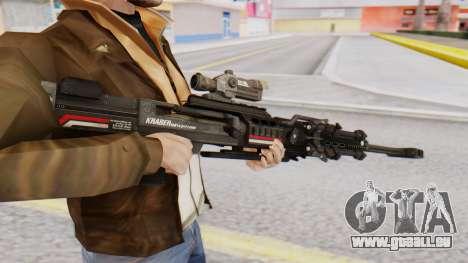 Sniper Rifle 8x Scope pour GTA San Andreas