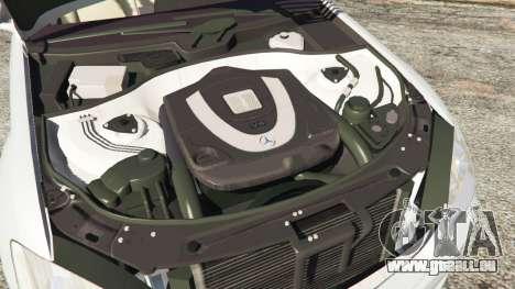 GTA 5 Mercedes-Benz S500 W221 v0.3 [Alpha] volant