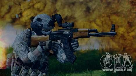 Thunderbolt ENB For Low PC pour GTA San Andreas quatrième écran