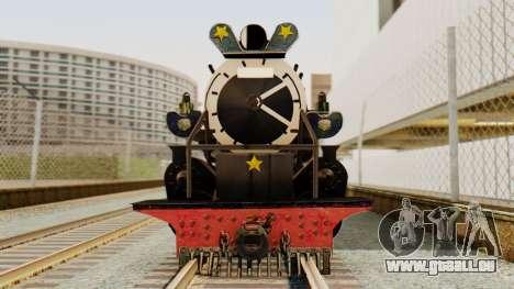 CC5019 Indonesian Steam Locomotive v1.0 pour GTA San Andreas sur la vue arrière gauche