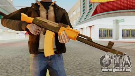 AK-74 SA Style für GTA San Andreas dritten Screenshot
