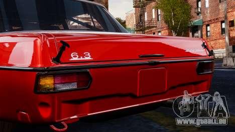 Mercedes-Benz 300 SEL 6.8 AMG W109 pour GTA 4 est un droit