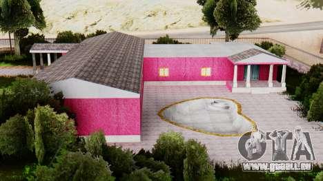 De nouvelles textures du club à Las Venturas pour GTA San Andreas troisième écran