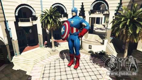 GTA 5 Statue De Captain America deuxième capture d'écran