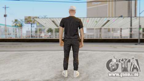 Personalized Skin from GTA Online für GTA San Andreas dritten Screenshot