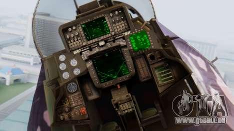 F-14D Zipang pour GTA San Andreas vue arrière