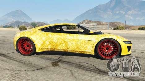 Dinka Jester (Racecar) Gold pour GTA 5