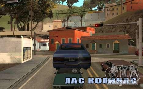 Veh Jump für GTA San Andreas dritten Screenshot