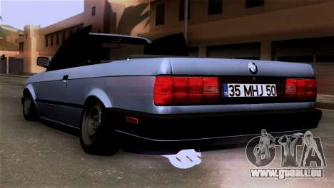 BMW M3 E30 Cabrio für GTA San Andreas linke Ansicht