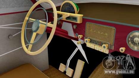GAZ 21 Volga v3 pour GTA San Andreas vue arrière